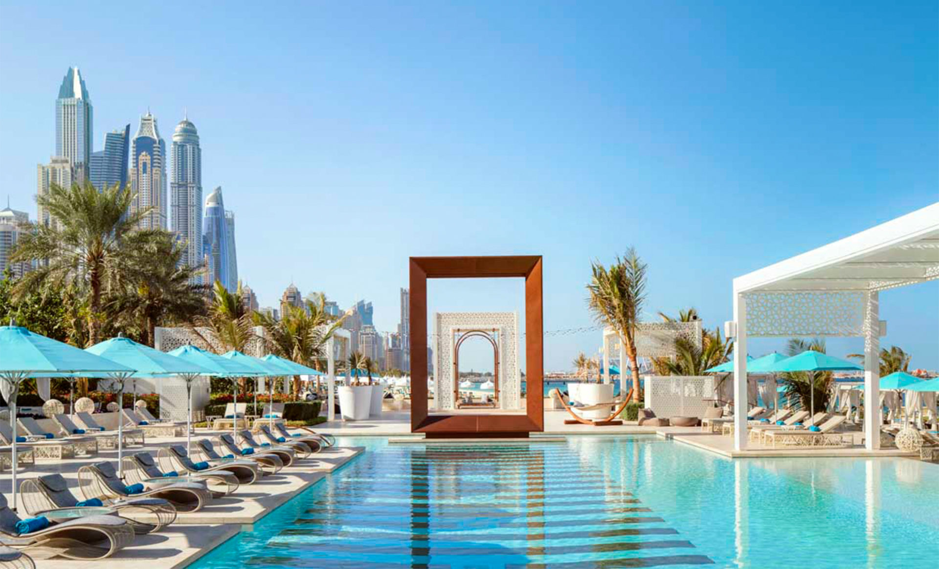 Arabian-Court-one-and-only-dubai-pool