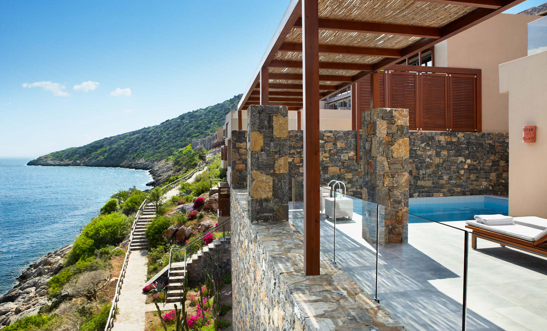 Daios-Cove-Greece-hotel-view-with-pool-